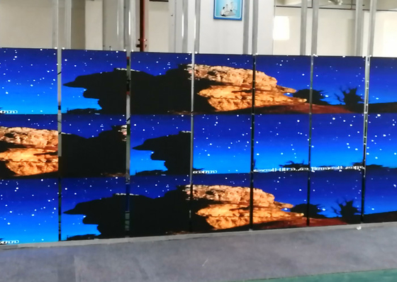 P2.5 Indoor Full Color LED Signs 1RGB LED Configuration Elegant Appearance